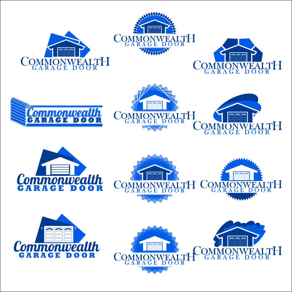 Overhead door logo - Garage Door Logo Commonwealth Garage Door